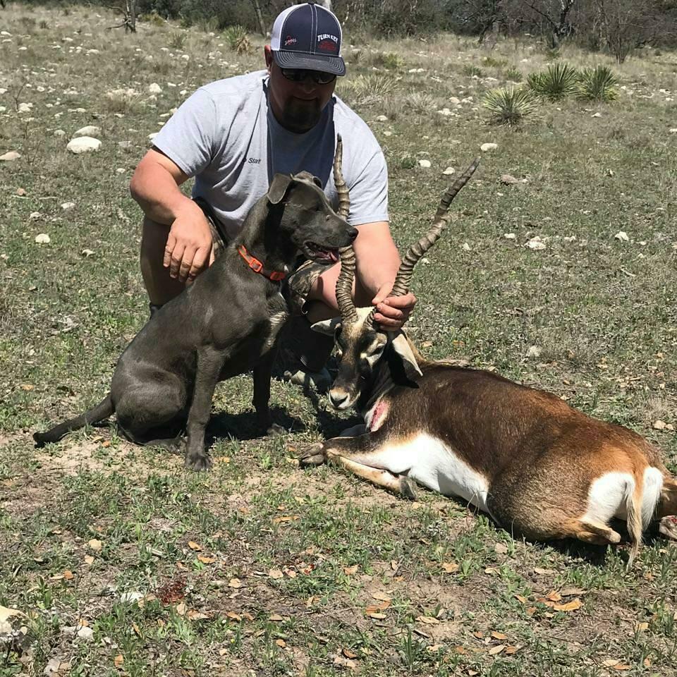 Pro Staffer Chester Barnes - March, 2017  Texas, Rifle