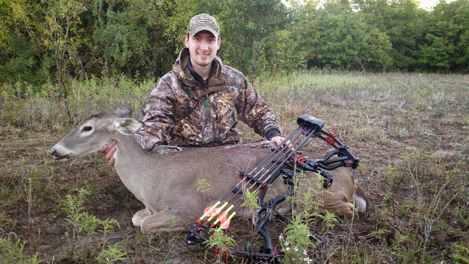 Pro Staffer Sam Thrash - November, 2014  Texas, Bow