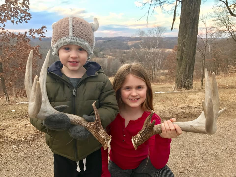 Shed hunting with Pro Staffer Will Sandberg and his kids