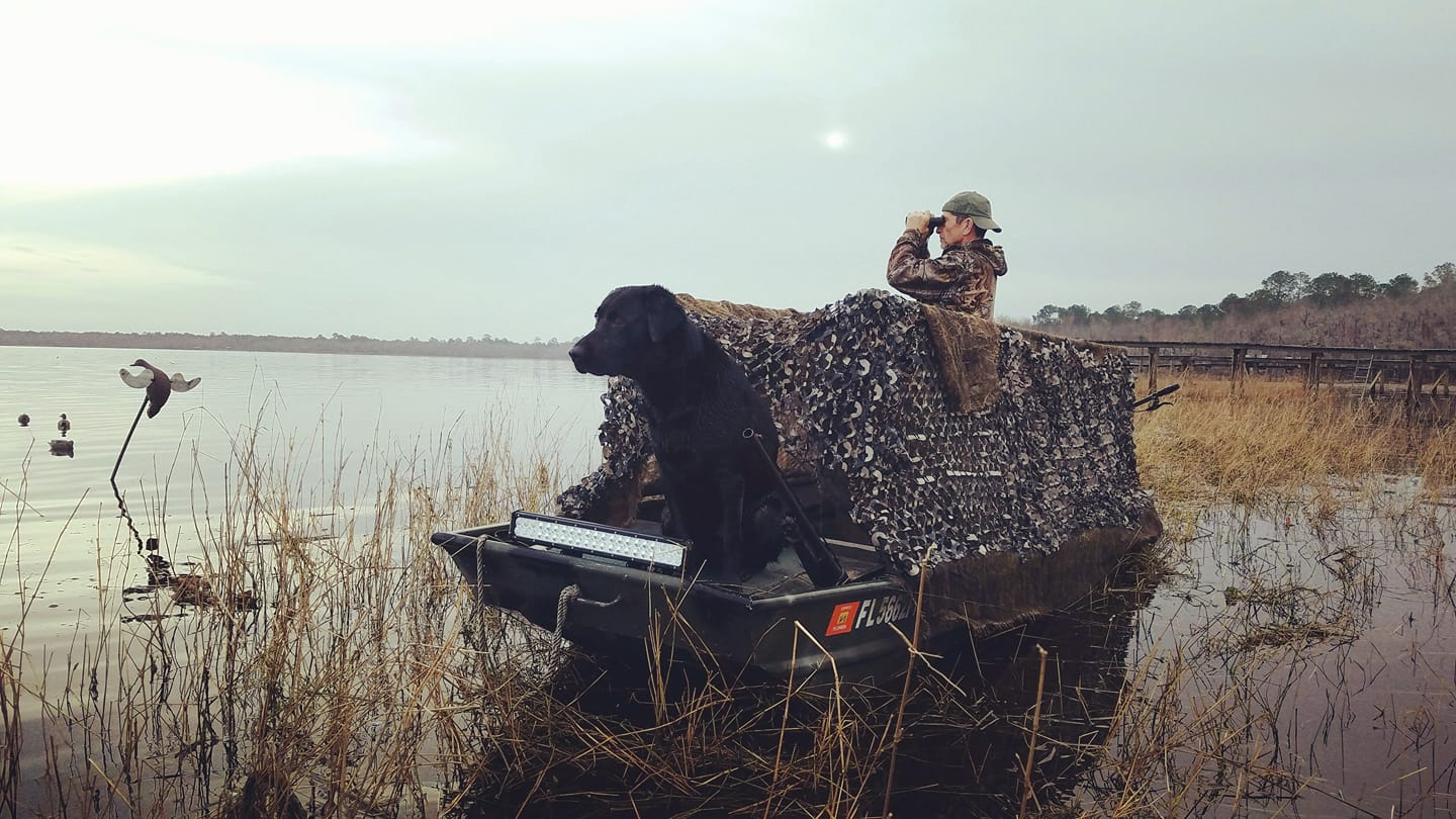 Duck hunting with Field Staffer Kevin Johansen and company