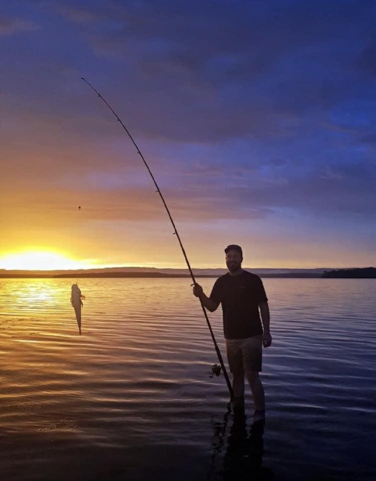 Pro Staffer Mark Maggard fishing in Australia