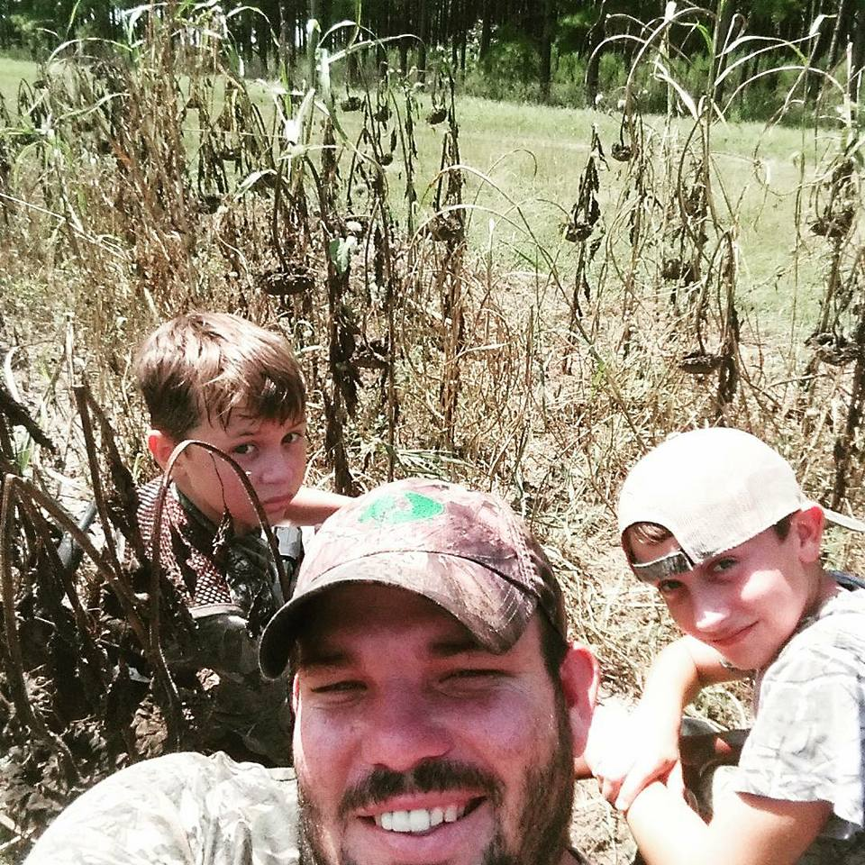 Dove hunting with Field Staffer Aaron Morris and family