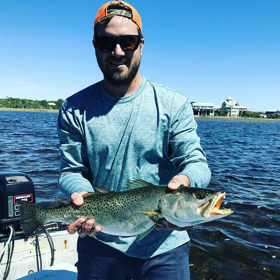 Field Staffer Mark Maggard fishing in Florida