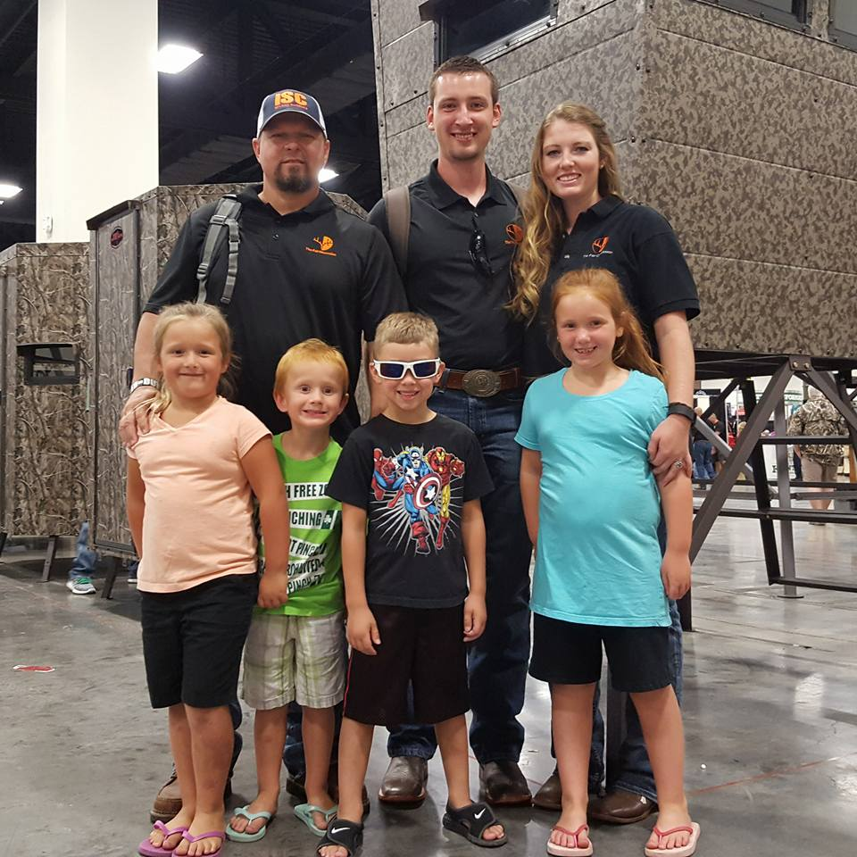 Our crew at the 2016 Texas Trophy Hunter's Extravaganza