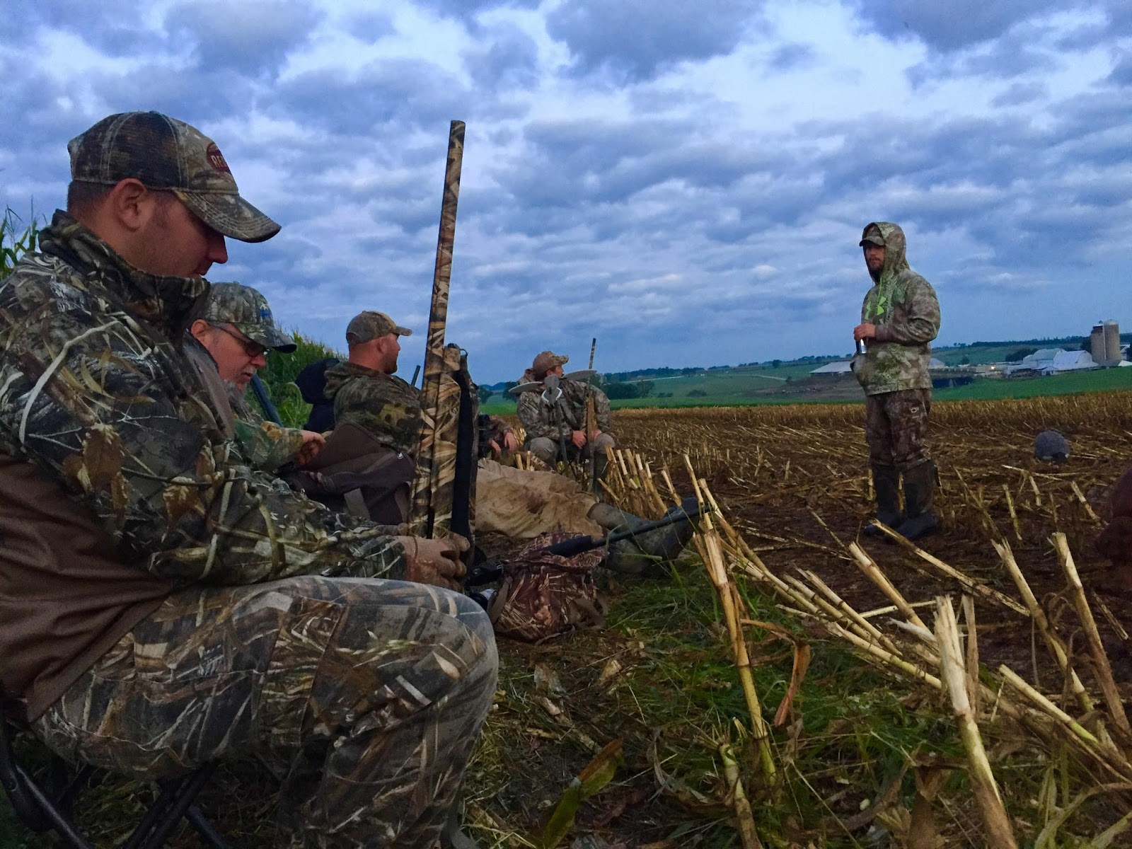 Goose hunting in Wisconsin