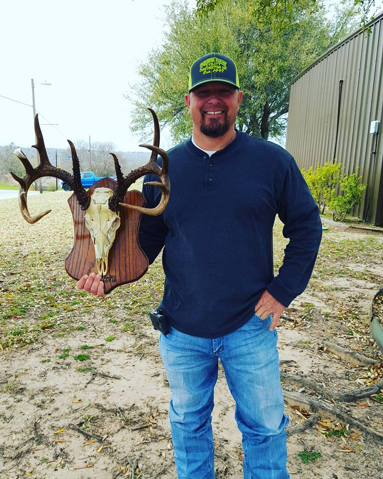 Pro Staffer Chester Barnes with his 2015 trophy