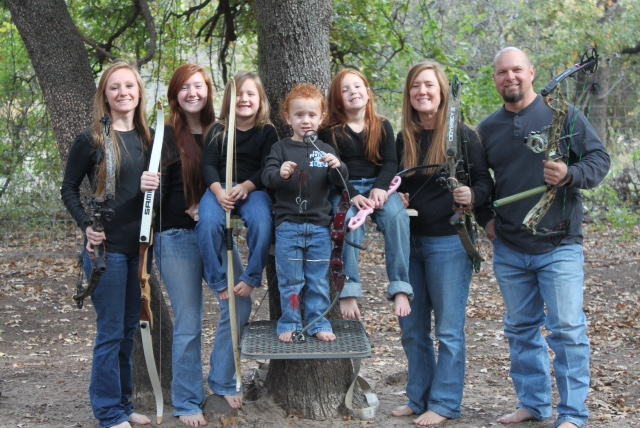 Pro Staffer Chester Barnes and Family