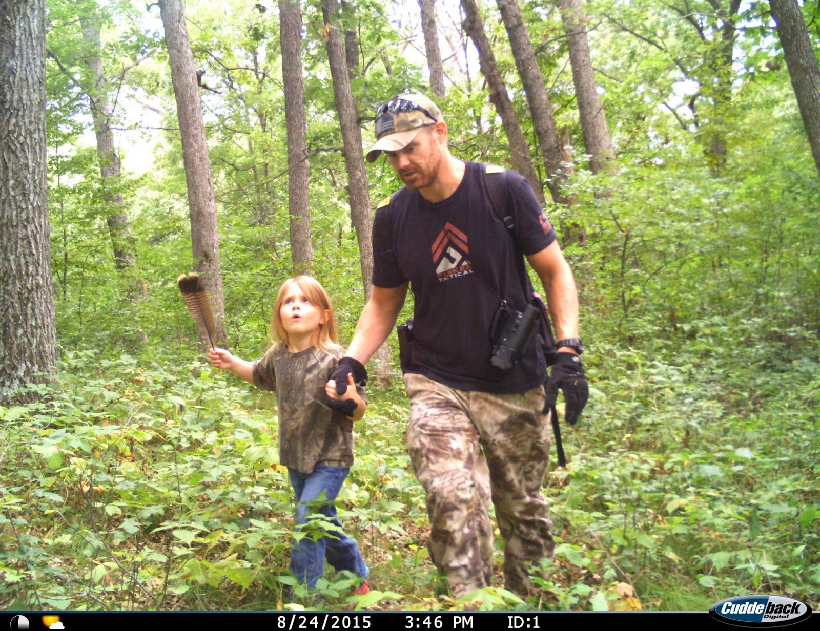 Field Staffer Will Sandberg and Daughter