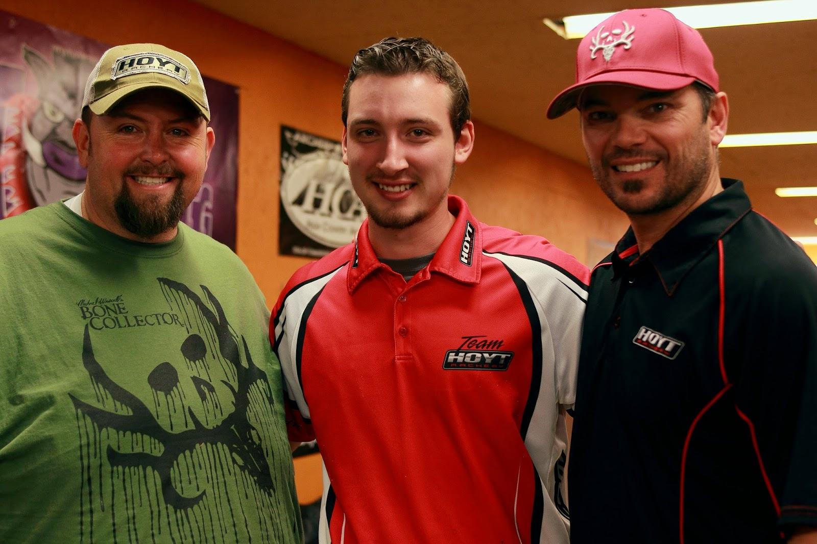 T-Bone Turner, Pro Staffer Sam Thrash, and Nick Mundt