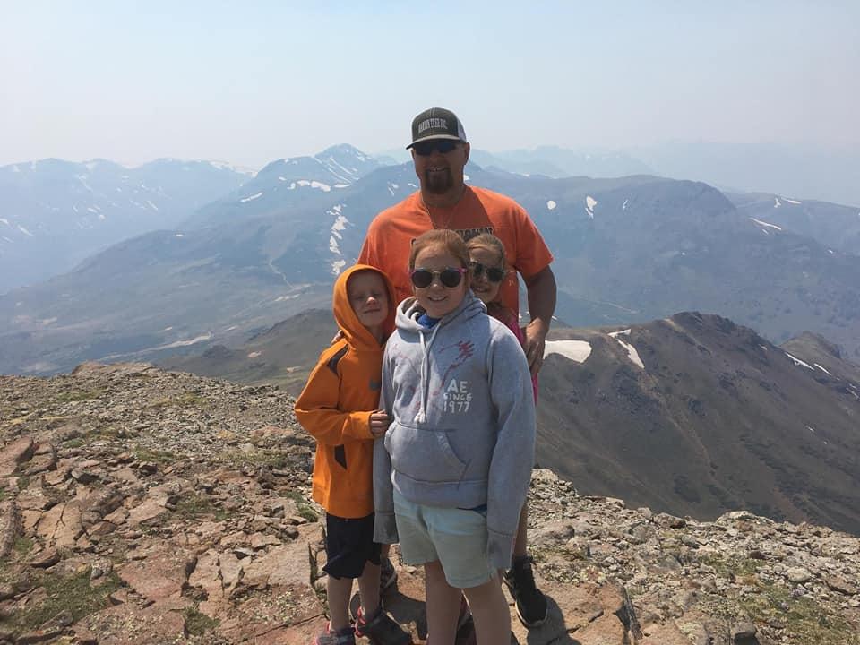 Pro Staffer Chester Barnes and Family in Colorado