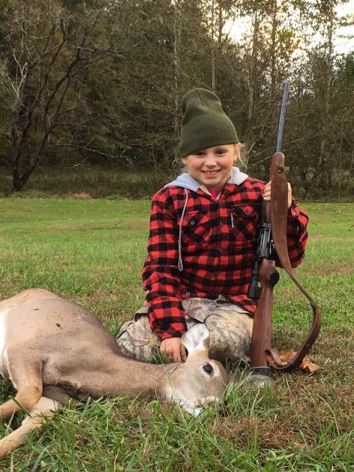 Field Staffer Jason Wandling's niece, Pressley with her very first deer!