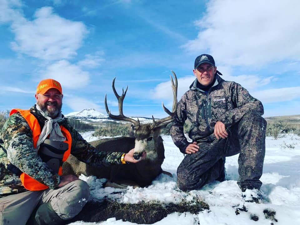Field Staffer Jay Moore (right) guiding in Colorado