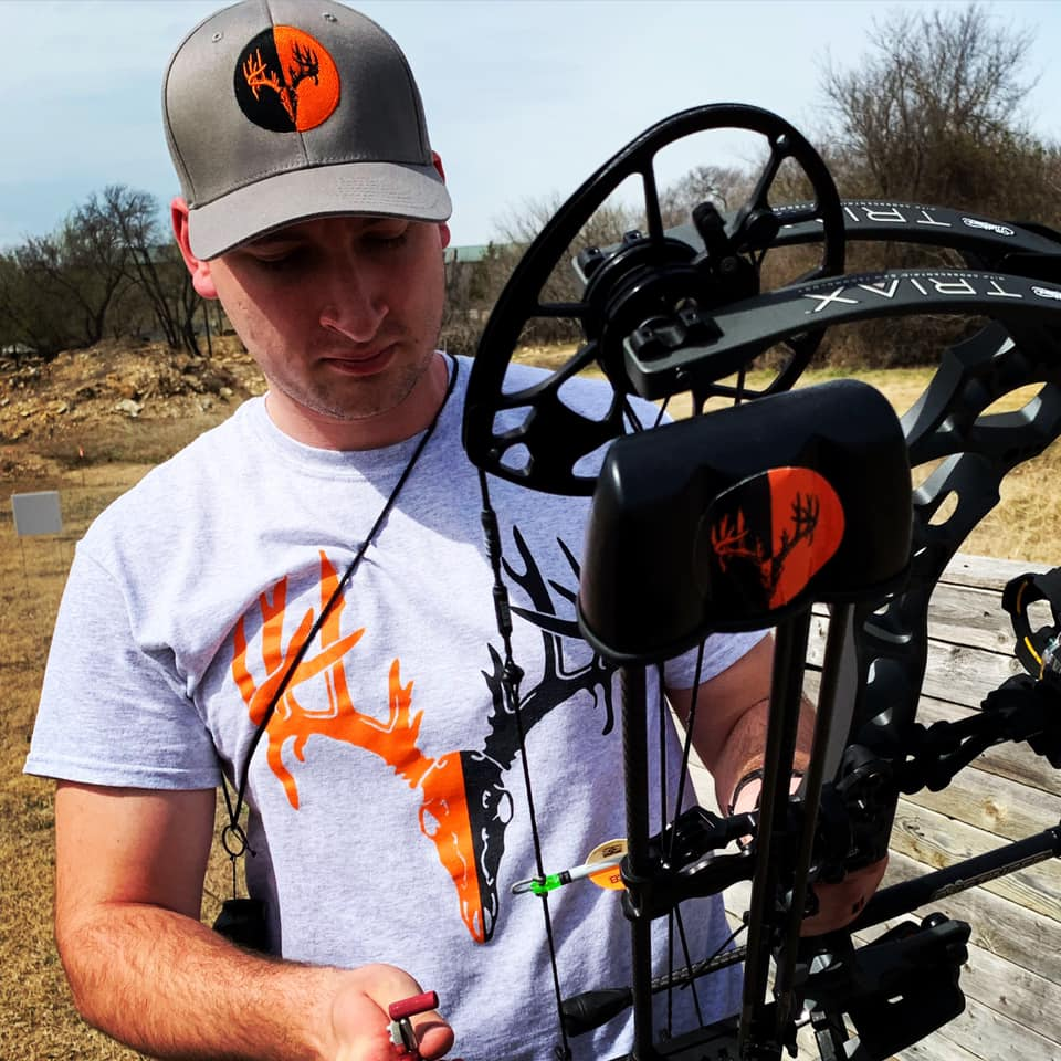 Pro Staffer Sam Thrash practicing at Cinnamon Creek Ranch in Roanoke, Texas