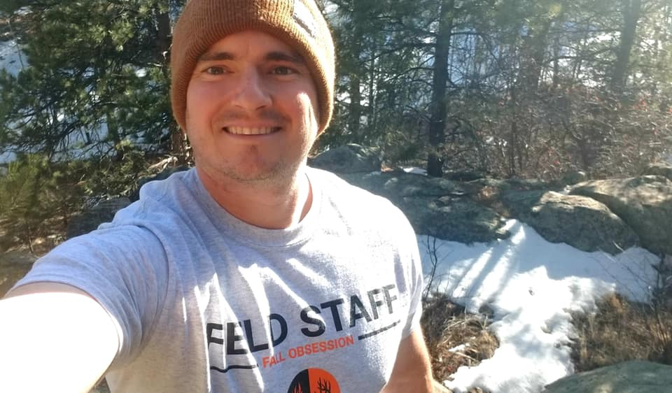 Field Staffer Kevin Johansen spending time in the Rocky Mountains