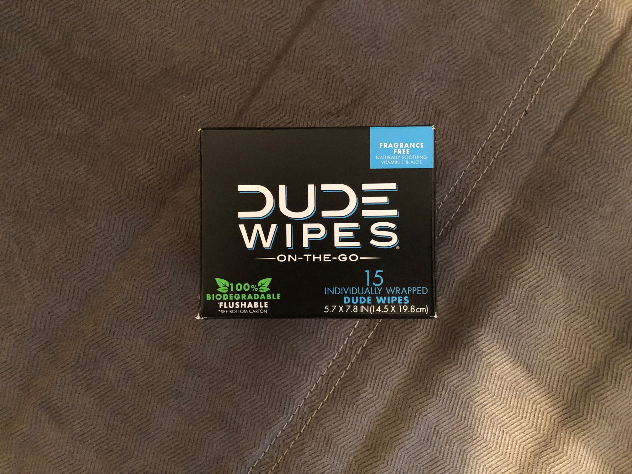 Individually wrapped wipes