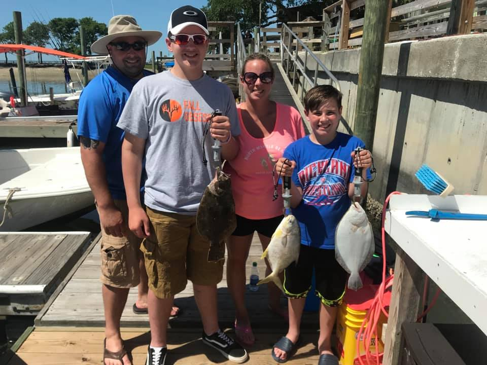 A Sidari family fishing trip