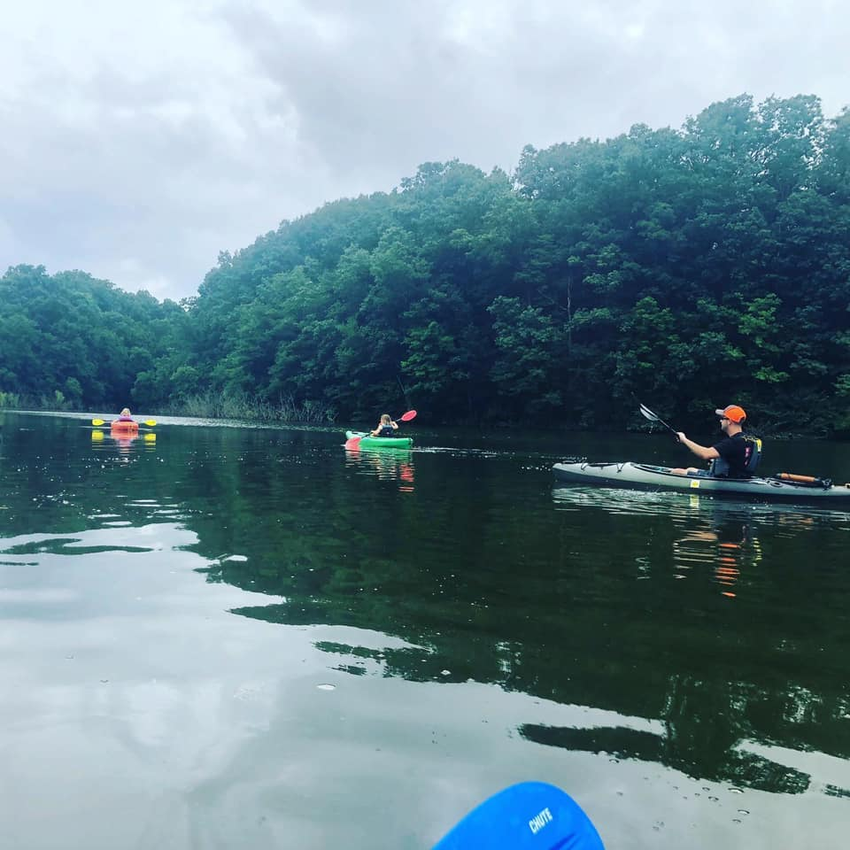 A canoe trip for Field Staffer Adam Sites and family
