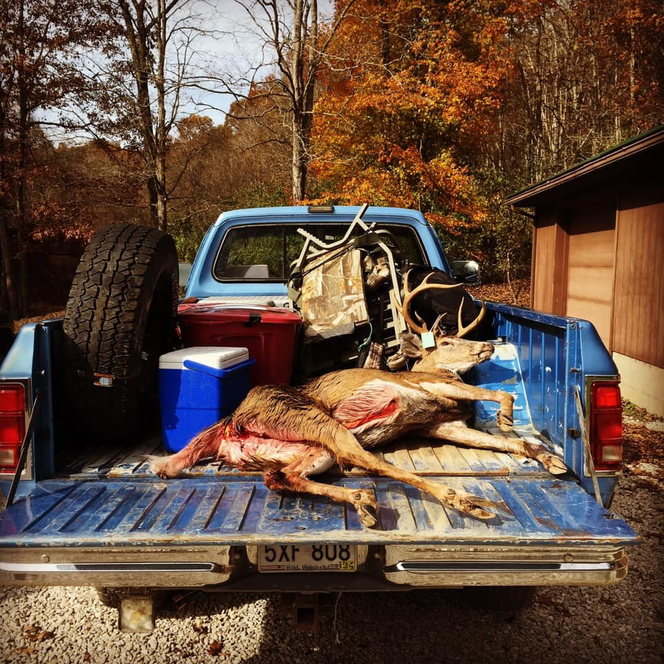 A buck in a truck…reflecting on Pro Staffer Jason Wandling's biggest buck to date