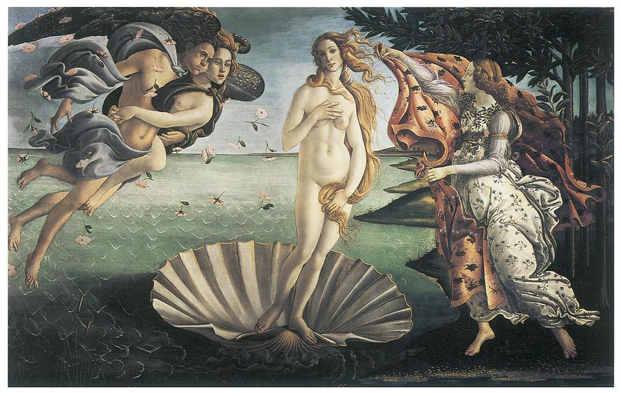 Botticelli's  Birth of Venus .