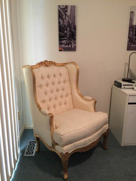 Antique Reproduction Lounge Chair