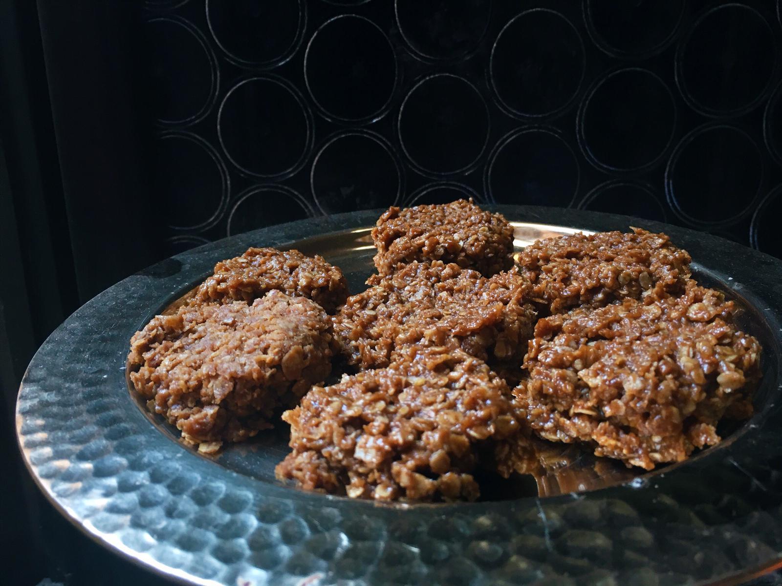 Week 46: Vegan No Bake Cookies -