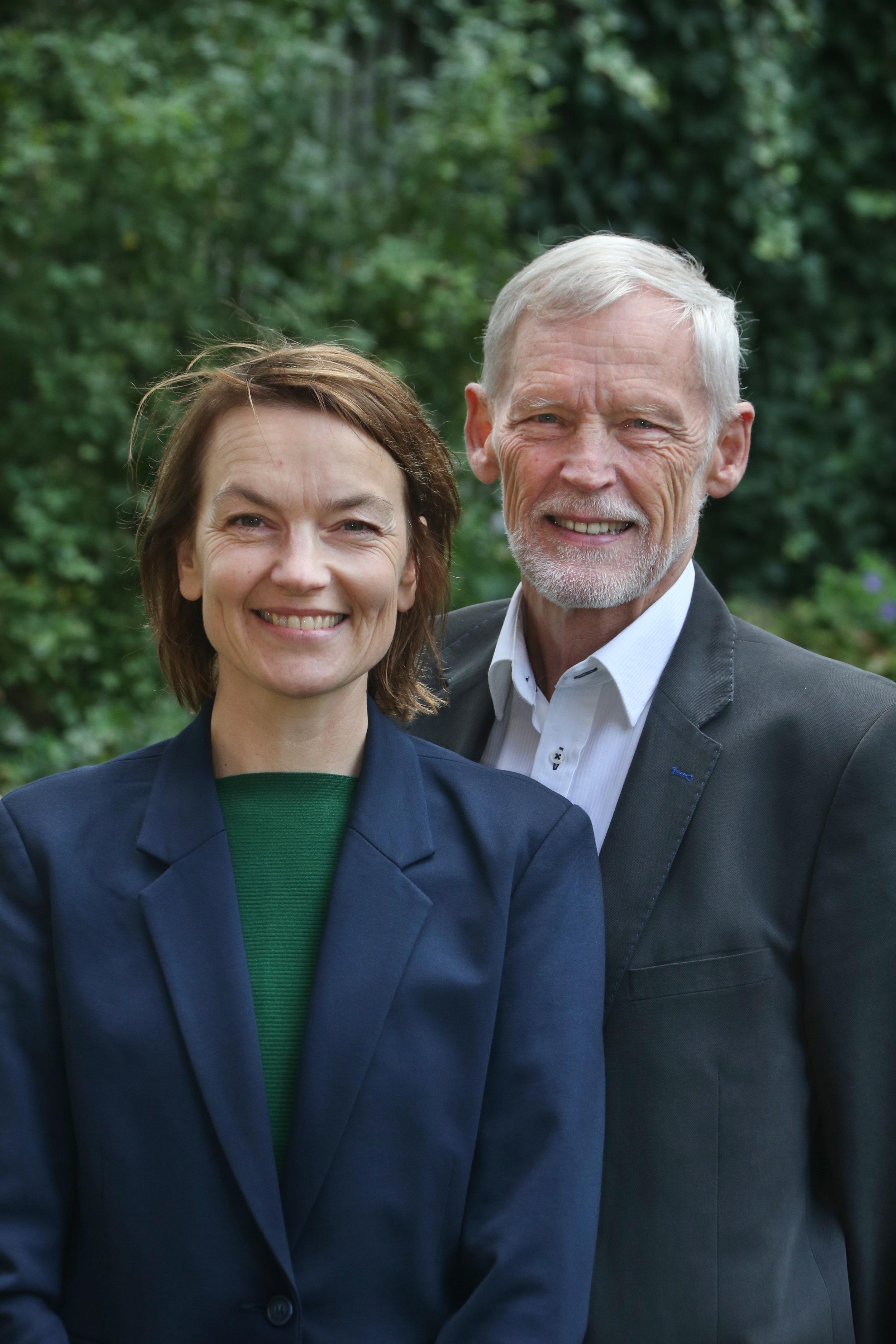 Arne Bech og Kristina Young sidder i kommunalbestyrelsen for Hvidovrelisten -