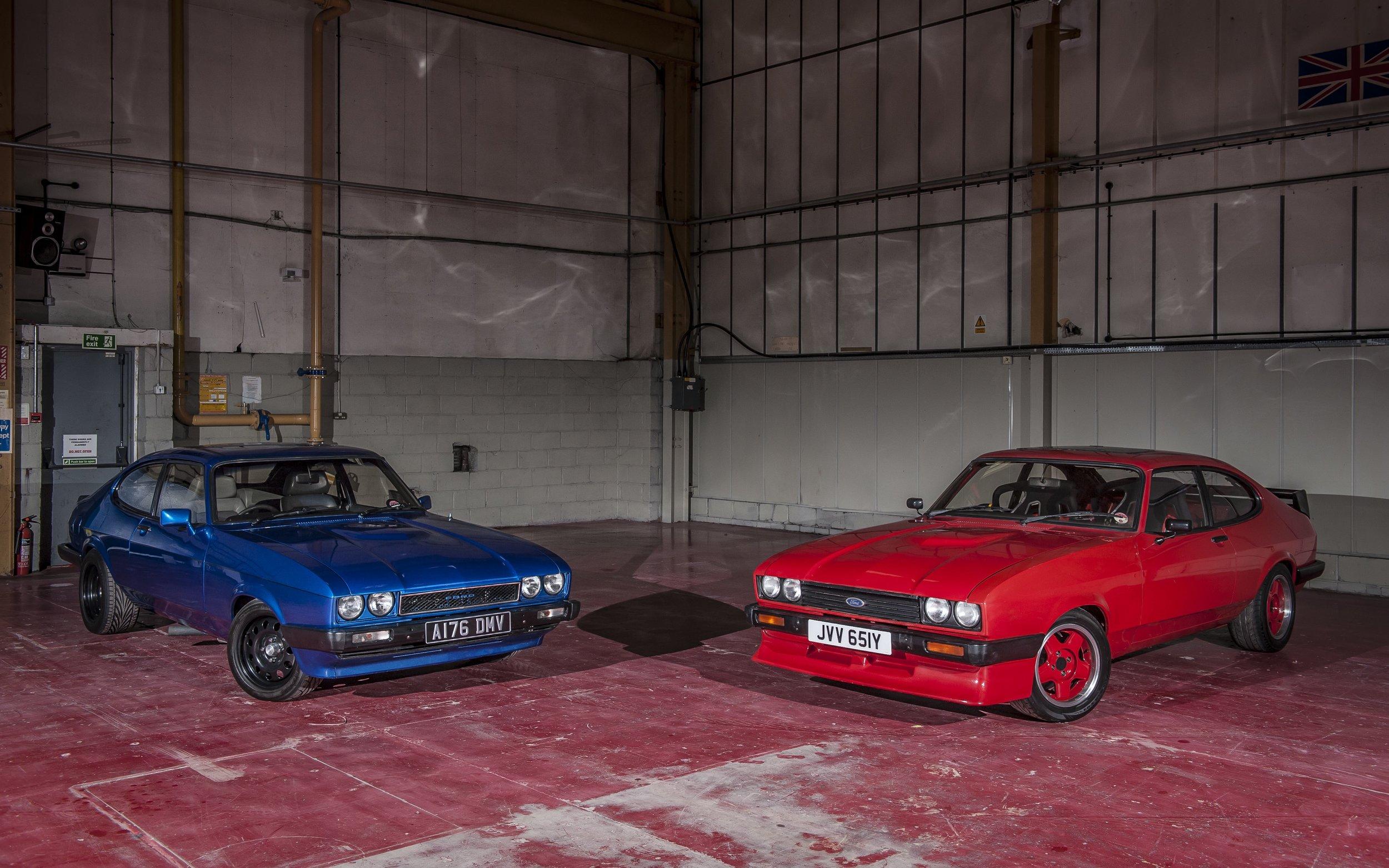 car storage hertfordshire ford capri