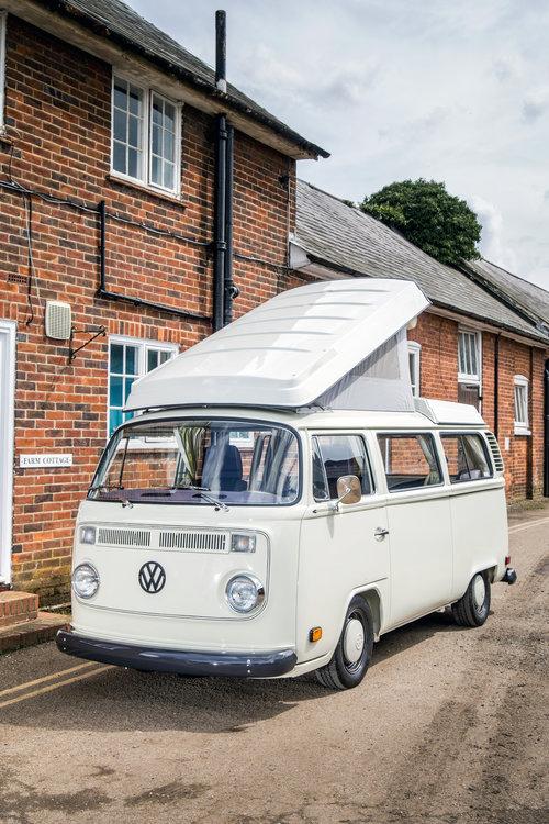 Camper Storage from £34 per week