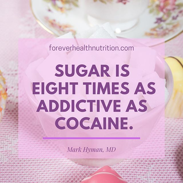 Again this is an extreme, and I do NOT believe this to be true.  The study that made this claim was done on rats and I just don't believe it translates directly to humans.  I DO believe that sugar is highly addictive though and completely useless in a healthy diet.   Yes it's extemeley hard to get rid of it completely, but you CAN eliminate most of it by just paying closer attention to what you put in your body.   Being aware, making better choices, and just doing a little better each day can mean big changes over time ✨  #happiness #behappy #love #instagood #healthyliving #fuelyourbody #eatright #playtowin #eattowin #losing #weightlossmotivation #inspiredaily #womenhelpingwomen  #fitnessover40 #sugarsetox #nosugar #eathealthy