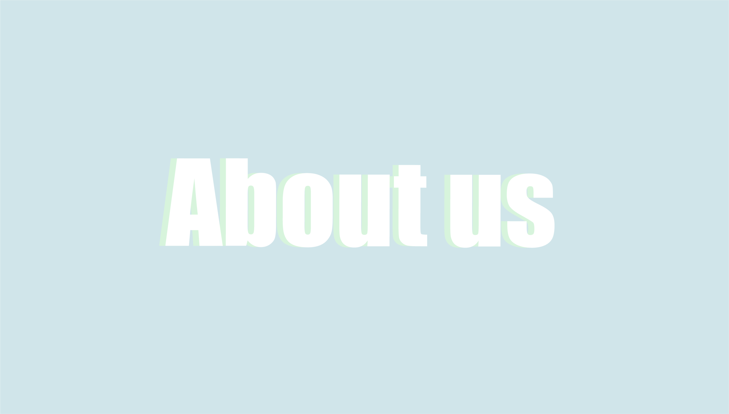 WHO ARE WE? -