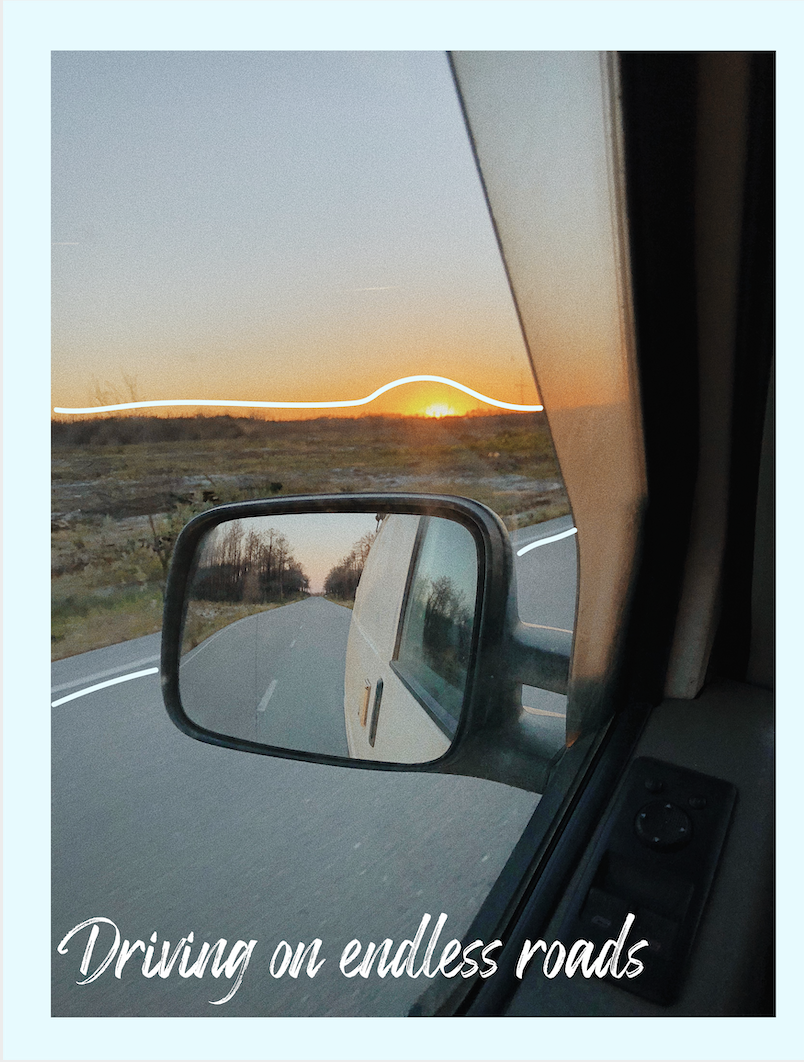 Life in a van SLAE Magazine