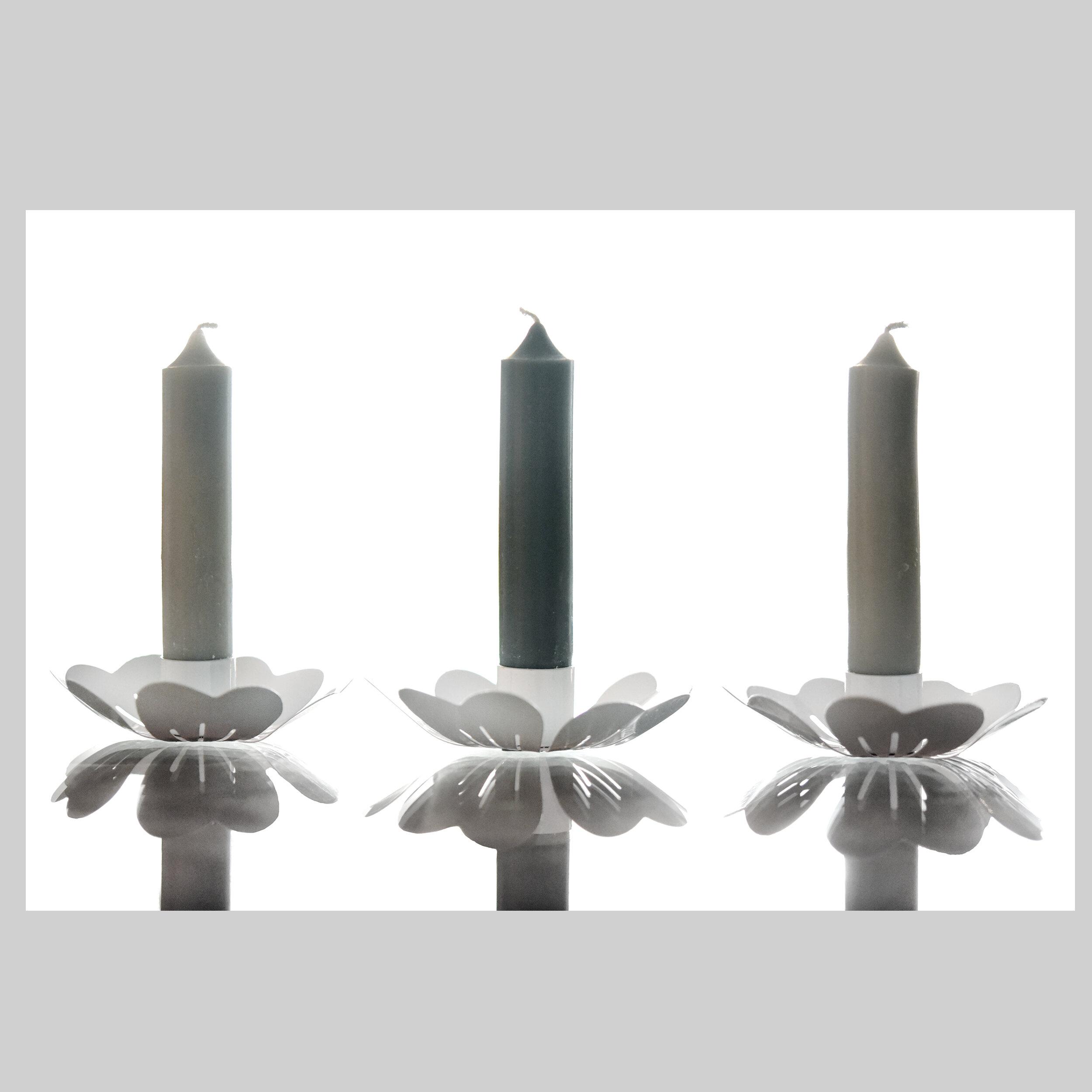 2 Scandinavian Candle Holders Dunster Living Shop