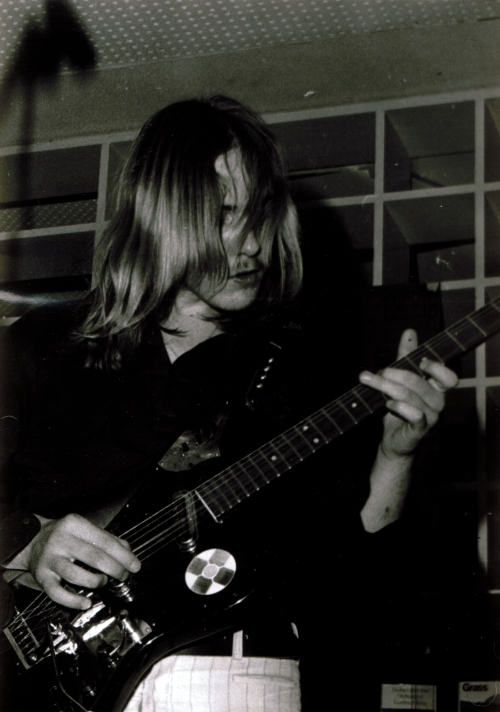 ULI at 15, improvising - Gymnasium Großburgwedel - 12. December 1970