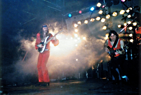 ELECTRIC SUN - BEYOND THE ASTRAL SKIES TOUR, Munich, Alabama Halle, 2. April 1985