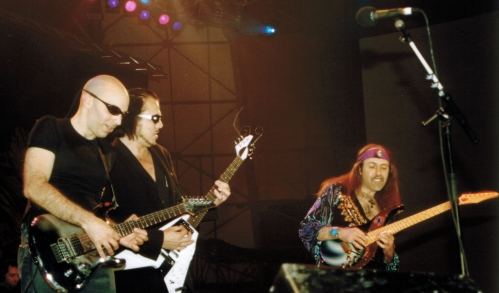 G3 TOUR & JOE SATRIANI & MICHAEL SCHENKER Torino, Italy - MONSTERS OF ROCK FESTIVAL, 13. June 1998