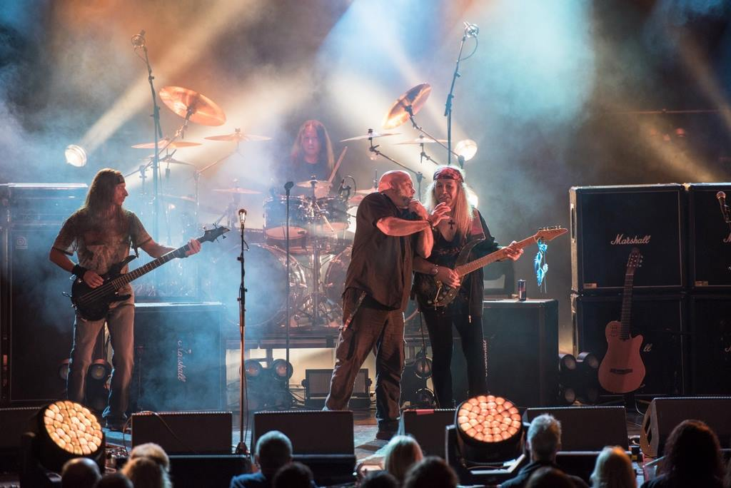 FULL METAL CRUISE IV - ULI JAM SESSION & BLAZE BAYLEY, DIRK SCHLÄCHTER, MICHAEL EHRÉ Theater, Mein Schiff 1, Coast of Denmark - 7. September 2016