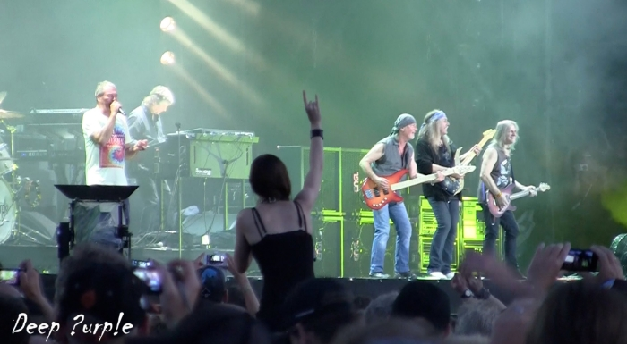 Deep Purple with Uli at Wacken open Air August 2013