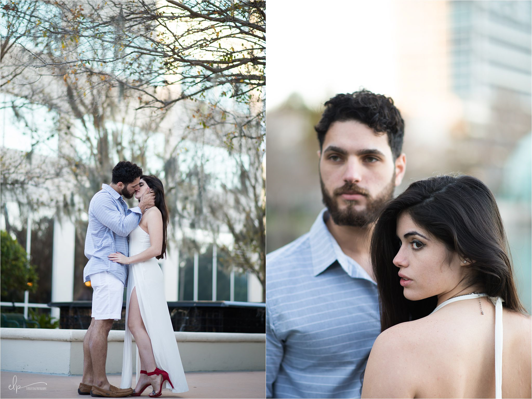 Photo shoot at Lake Eola Park.