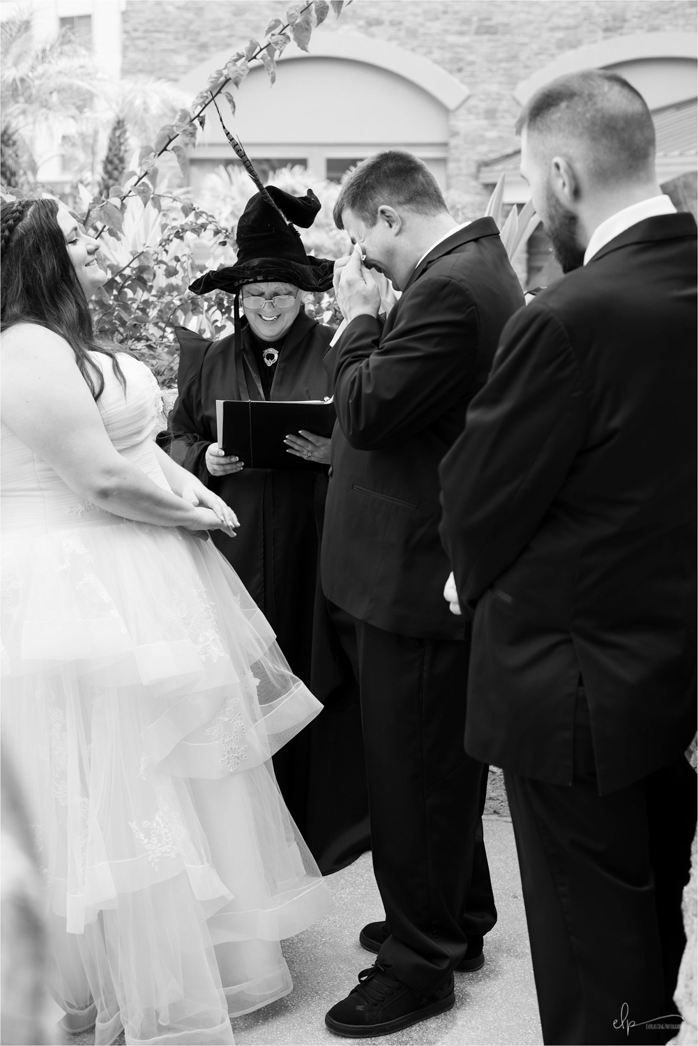 Wedding ceremony by Getting Married in Florida.