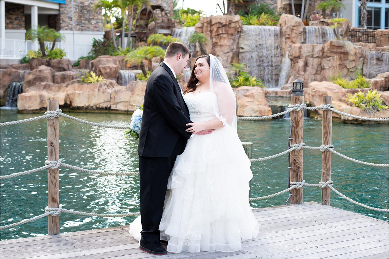 Wedding photographer at Sapphire Falls