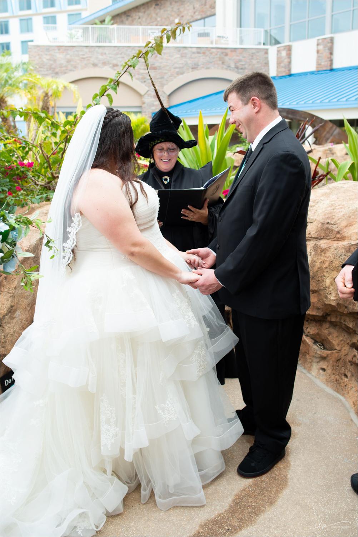 Wedding photography at Universal Studios Orlando.