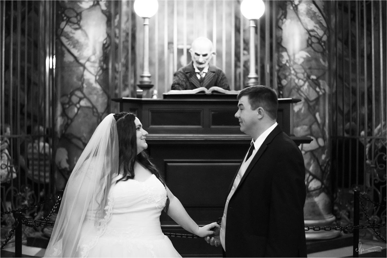 Wedding Photos with Diagon Alley's Banker