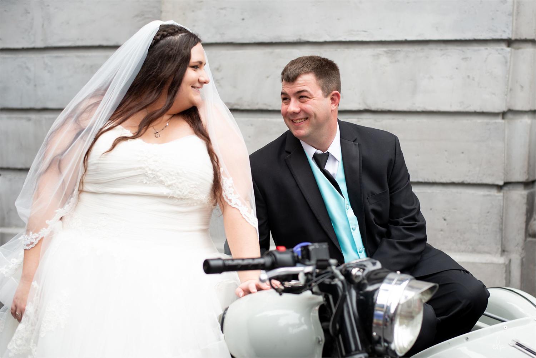 Wedding photography at Diagon Alley