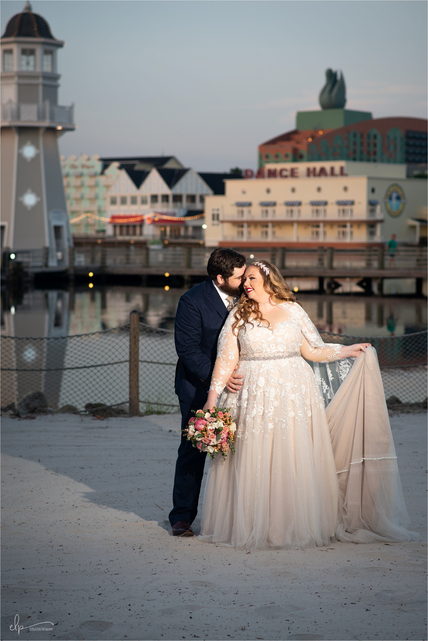 Pictures of Disney Beach Club Weddings