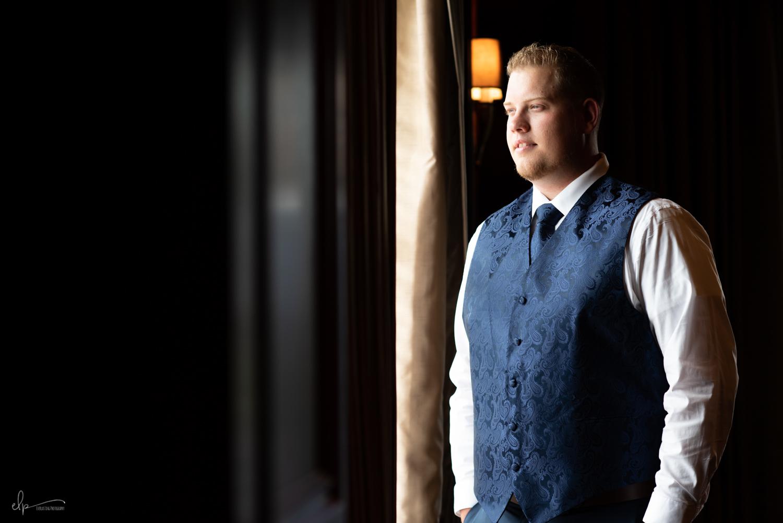 Orlando wedding photography of groom