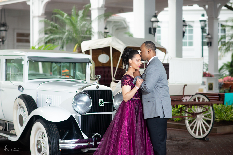 Engagement photographer at Disney's Grand Floridian
