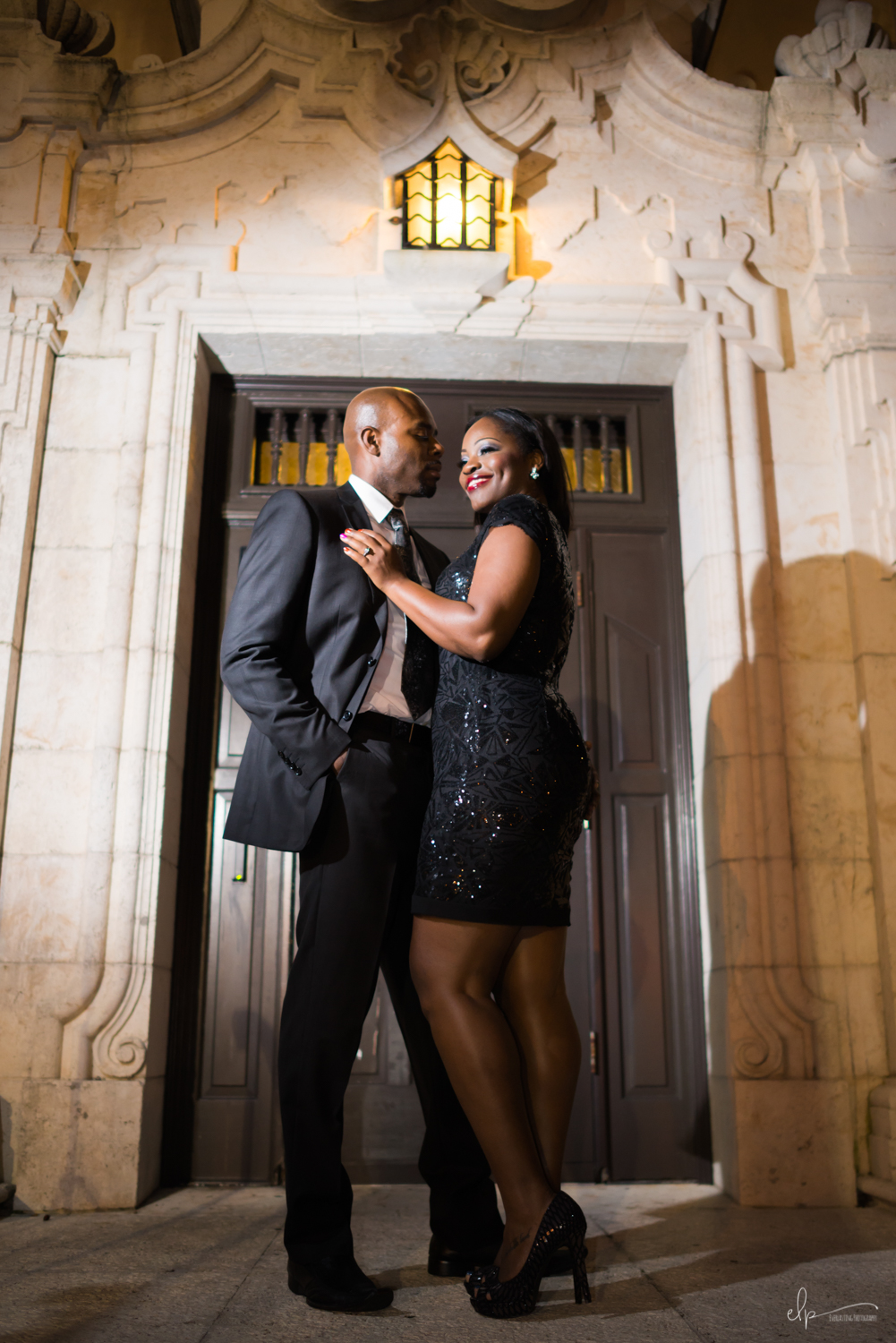 Engagement photography session locations in rollins college