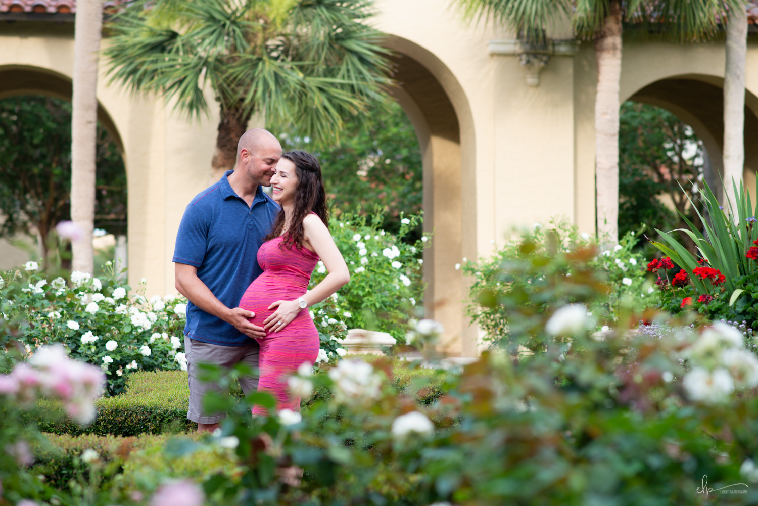 Portrait session locations at Rollins College