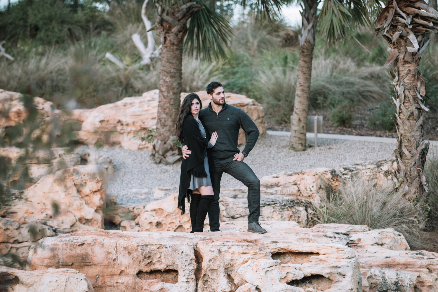 engagement session locations in bok tower