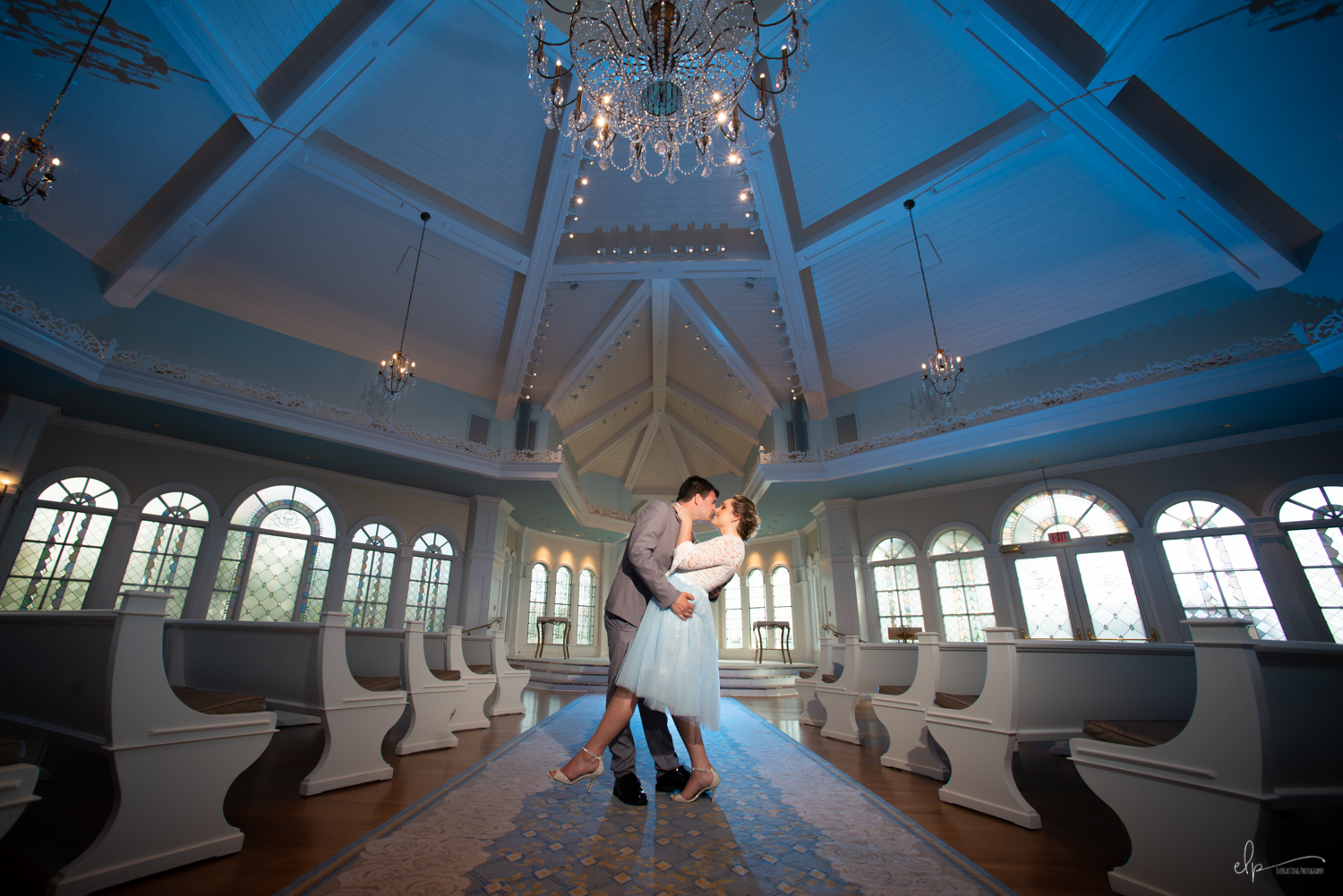 Engagement photography at disney's grand floridian resort